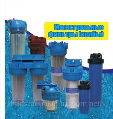 Filters, Flask, akvanut, Filters for mechanical
