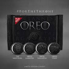 Печенье Oreo Game of Throne 432g