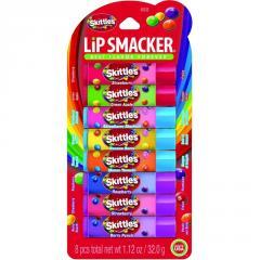 Бальзамы для губ Lip Smacker Skittles набор...