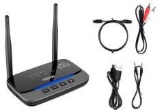 Bluetooth 5.0 аудио приемник передатчик 80м aptX