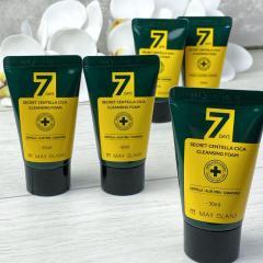 Очищающая пенка для проблемной кожи 7Days Secret