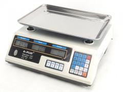 Весы торговые 50 кг A-PLUS 1660