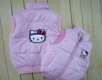 Kitty's zhiletochka. pink, white, crimson,