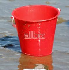 Buckets plastic round from the producer, Makiivka,