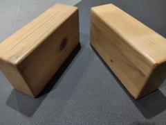 Цеглини дерев'яні - для йоги та фітнесу  //