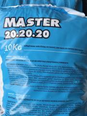 Удобрение Мастер 20.20.20 10кг / Master 20.20.20