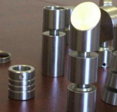 Accessories for production of a handrail