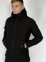 "Куртка Softshell ""Intruder"" S Черная"