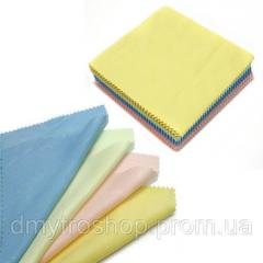 100x Салфетка чистящая из микрофибры ткань для