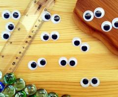 (10 грамм, Ø15мм) Подвижные глазки для игрушек d=15мм (прим.65-70 глазок) (сп7нг-4186)