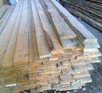Pine edged sawn timber
