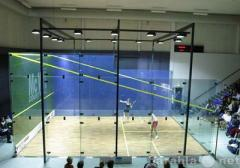 Squash court Glass