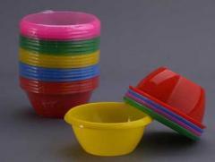 Миски пластмассовые