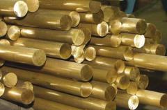 Bars copper, brass.