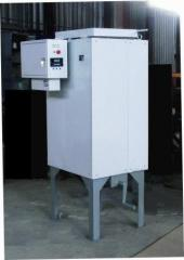 The electric furnace for drying and calcination of