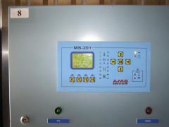 Automatic equipment of lesosushilny chambers