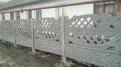 The eurofence, production, delivery, installation