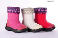 Обувь детская зимняя, купить отптом в Одессе.