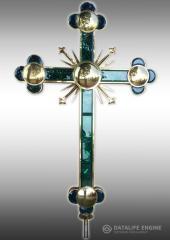 Крест с напылением