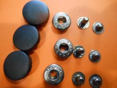 Кнопка пластиковая 12,5 мм 15 мм 17 мм 20 мм