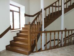 Лестницы деревянные на заказ.