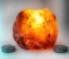 Подсвечник соляной (Natural)(S-006)(+-10х10х8