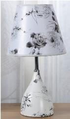 Лампа настольная 21225 с абажуром