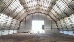 Hangars arch in Sumy