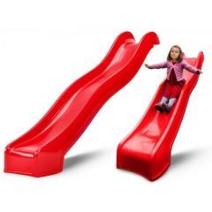 Скользкая детская горка Swing King Red 3м