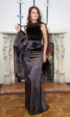 Одежда женская дизайнерская, Бархатный корсет и