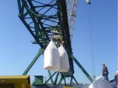 Carbamide, packaging - bag, big / run, terms of