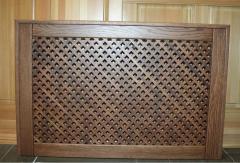Решетки каминные деревянные | изделия из дерева на