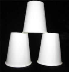 Disposable tableware - glasses paper