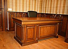 Furniture from natural mahogany   products from a