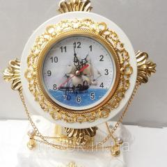 Настольные декоративные часы с будильником