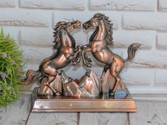 """Зажигалка сувенирная """"Два коня"""" (Турбо"""