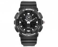 Часы наручные C-SHOCK GA-100 Black-White,