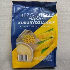 Мука Bezgluten кукурузная 500г