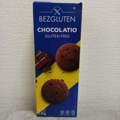 Печенье Bezgluten шоколадное 130г