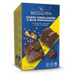 Кекс Bezgluten шоколадный с цедрой апельсина...