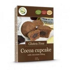 Кексы GFL с какао и шоколадной начинкой 210г