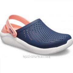 Сабо Crocs LiteRide Clog Navy/Melon (...