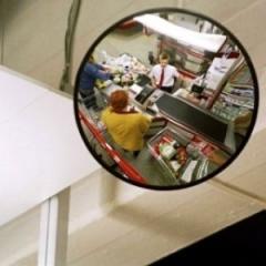 Supervision mirror spherical K-400