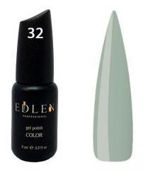 Гель-лак Edlen №32 (серый, эмаль), 9 мл