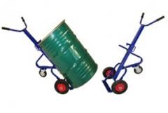Carts for transportation of barrels