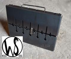 Barbecue - suitcase on 6 skewers