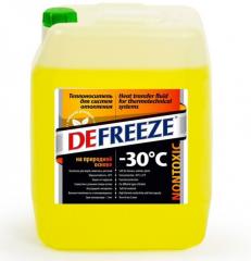 Теплоноситель для отопления на природной основе Бишофит, DEFREEZE -30, 20л