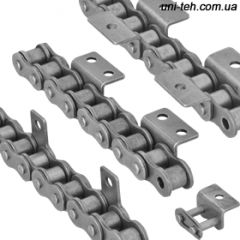 Chains are conveyor, roller with a curved elemen