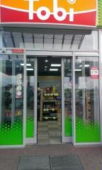 Automatic sliding doors Kiev