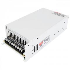 Импульсный блок питания S-500-48, 48V, 10A, 500W